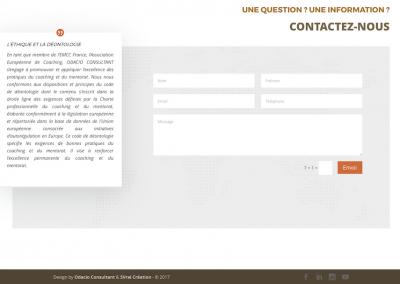 création site web : odacioconsultant.fr