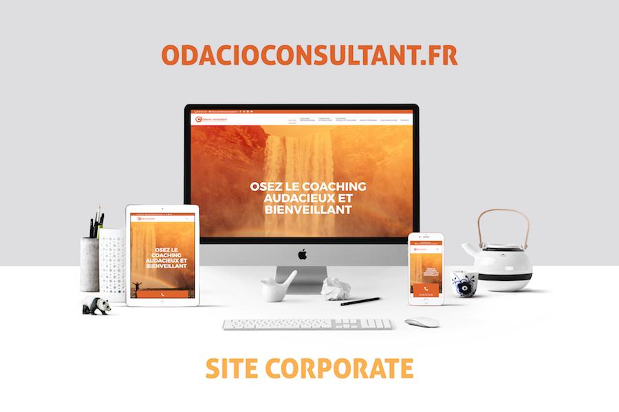 Création Site internet : odacioconsultant.fr
