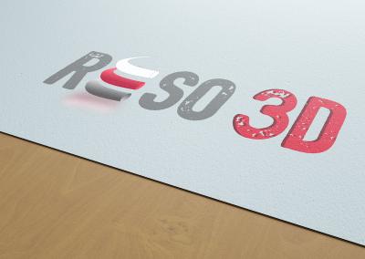 SVrai Création : Logo Réso3D