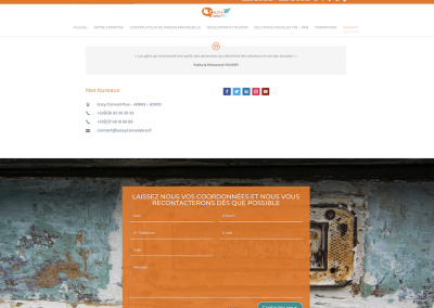 Création de Site Internet - SVrai Création