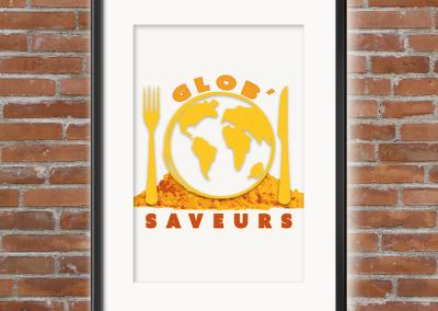 Création Logo : Glob' Saveurs