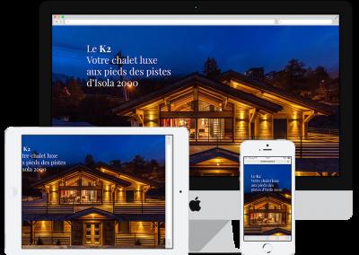 Site K2 : Vente Immobilière – Chalet de Luxe