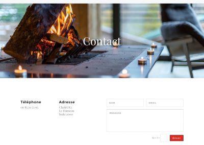 création site web : chaletluxeisola.fr