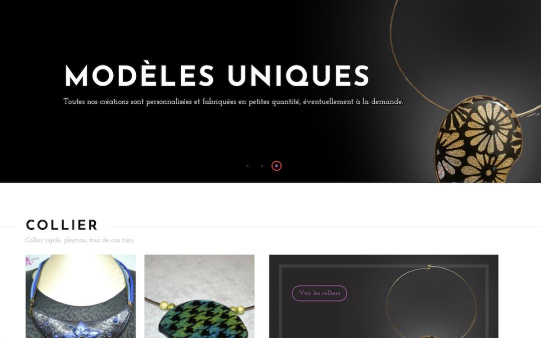 Création site e-commerce : ninelyia.com