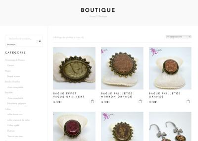 SVrai Création : création site e-commerce : https://ninelyia.com