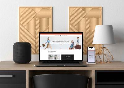 Création site commerce : christelleup.fr