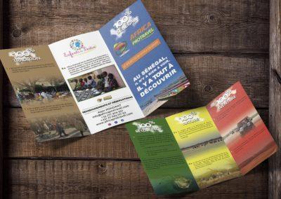 Création Brochure : Africa ProTravel