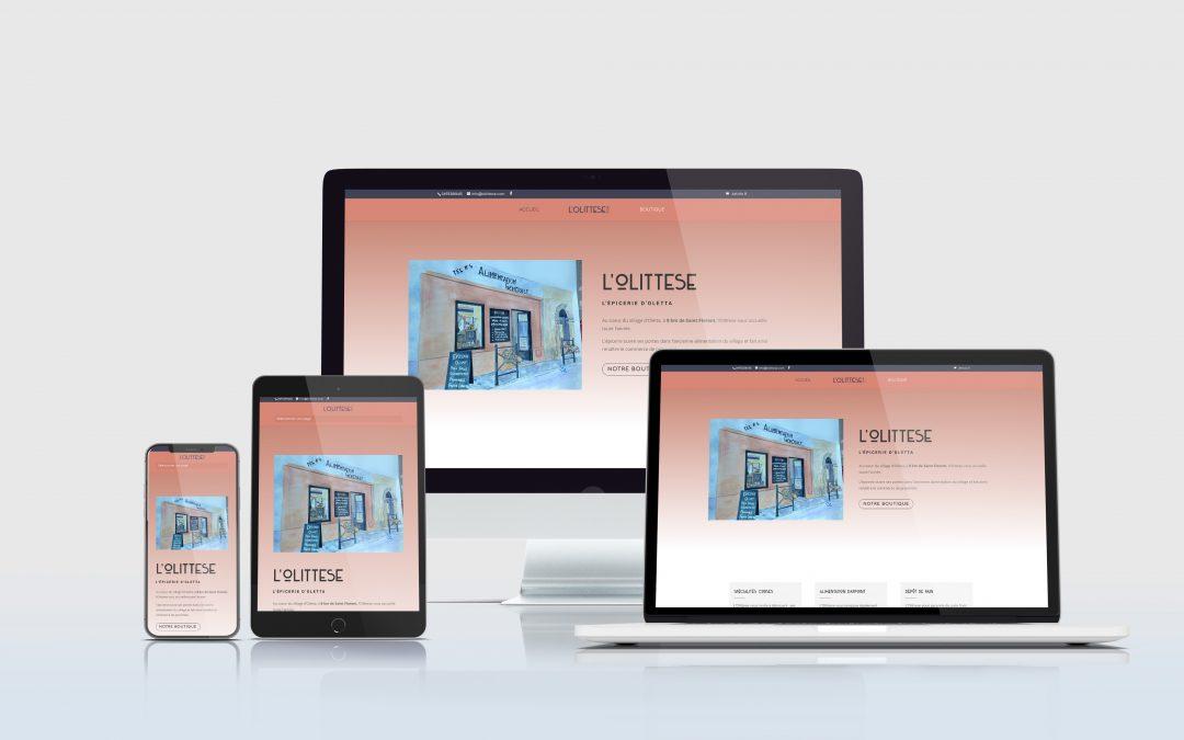 Création site e-commerce : lolittese.com