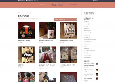 SVrai Création : création site e-commerce : https://lolittese.com/
