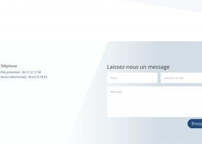 Création site vitrine - AgeosExpertise