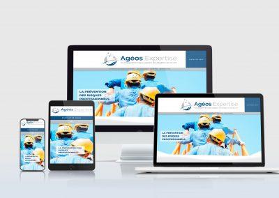 Création site vitrine : AgeosExpertise.fr