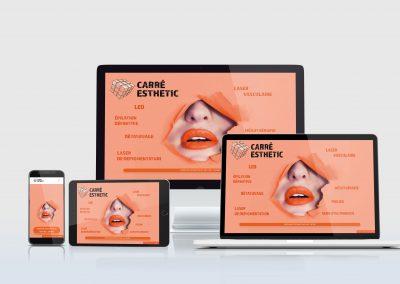 Création Site : Carre-esthetic.fr