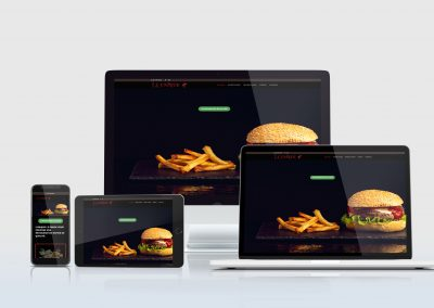 Création Site : L'Unique Snack