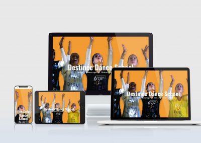 Création site formation en ligne : destineedanceschool.com