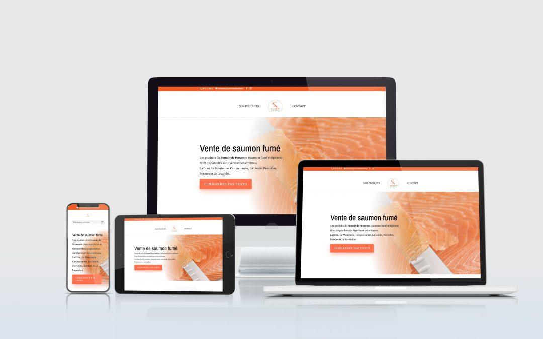 Création Site : saumonettradition.fr