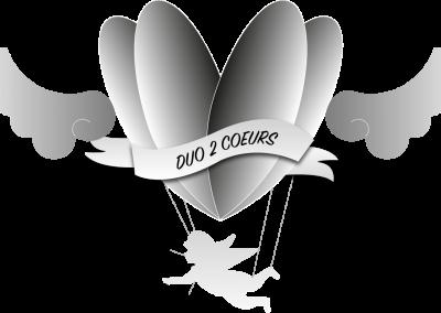 Création logo : Duo2Coeurs
